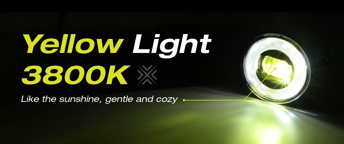 FOG LIGHT - YELLOW LIGHT