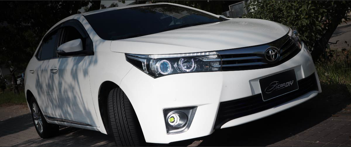 2016 Toyota Altis with 4in1 LED FOG LIGHT