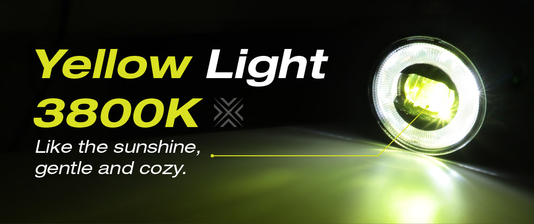 YELLOW LIGHT-FOG LIGHT