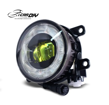 FOG LIGHT ROUND SELECTIVE YELLOW MB T