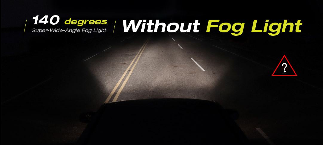 without fog light on